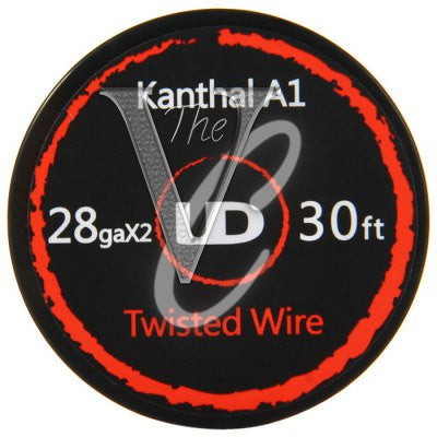 UD twisted wire 28ga x2 30ft