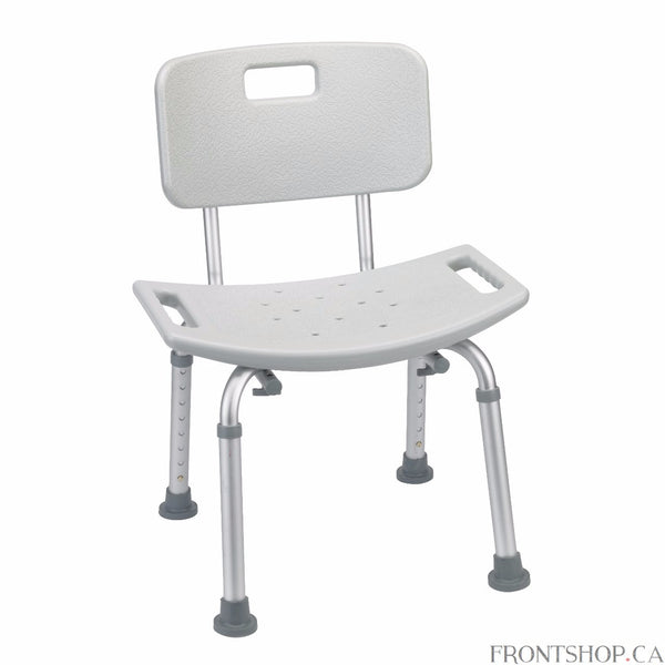 The Ultimate in Safety, Security and Stability The Drive Medical Grey Bathroom Safety Shower Tub Bench Chair with Back guarantees your bathing experience can be a safe and pleasant one, minus the worry and unease that arises from fear of falling while in the tub or showering.Designed for maximum comfort, efficiency, safety, and ease of use, the Drive Safety Shower Chair is strong, durable and dependable. It's everything you need in a shower safety bench seat.So, if you experience dizziness, or you're unsure