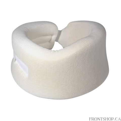 The Cervical Collar by Drive provides firm, comfortable support which helps to relieve neck discomfort while providing extra support. Cervical Collar has a convenient hook and loop closure which allows the unit to be adjusted for a proper fit. The Cervical Collar is constructed of soft, porous cotton cover for comfort which is over polyfoam for the best support.