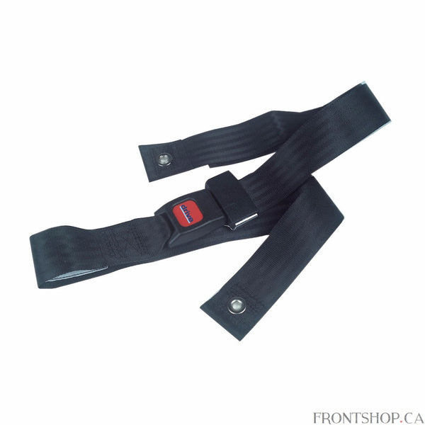 "This 48"" Seat Belt with Auto Type Closure by Drive Medical can be used with all Drive Medical and other leading manufacturers wheelchairs. This Seat Belt closes like a car style seatbelt and provides security and safety for users while in the wheelchair."