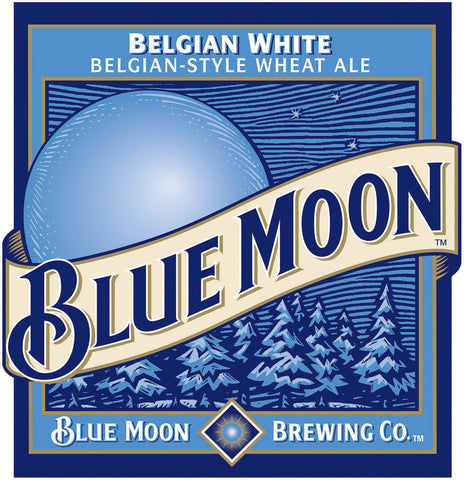 Blue Moon 24 Pk Bottles