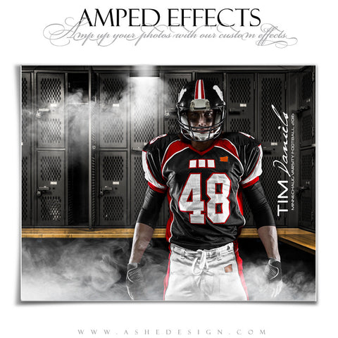 Ashe Design 16x20 Amped Effects Sports Photography Poster Photoshop Templates