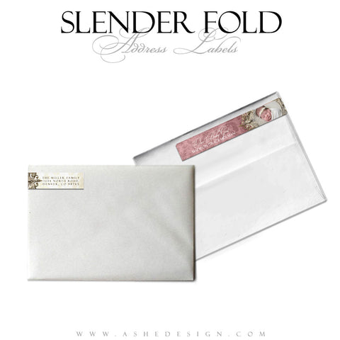 Slender Fold Address Label Designs - Madison Grace