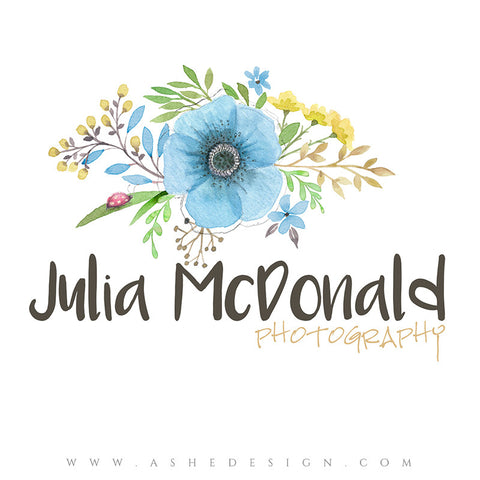 Customizable Logo | Artistic Bouquet