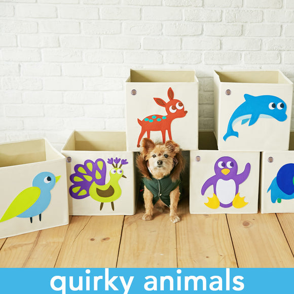 Quirky Animal Toy Storage Box