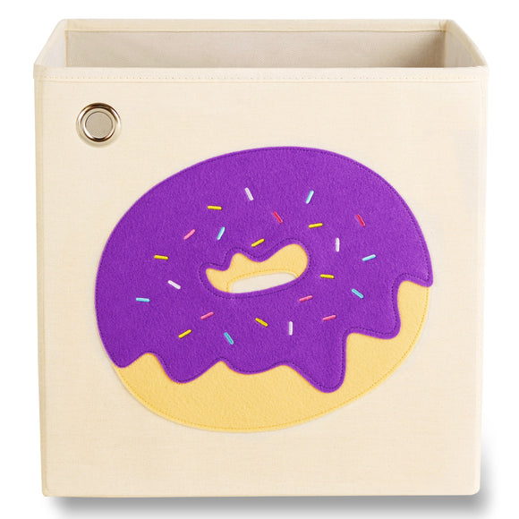 Sprinkled Purple Donut