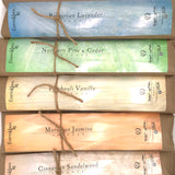 Handmade Charcoal Incense Assortment Pack - 200+ Sticks - The Apothecary Fairy