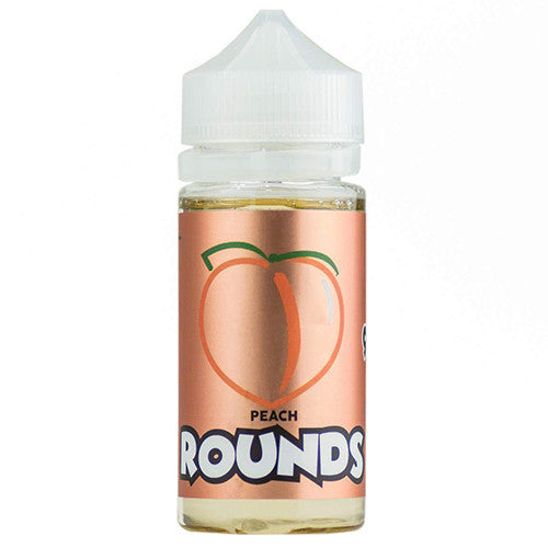 Peach Rounds by Rounds E-Liquid 100ml - 120ml.co - Best Premium eJuice and Vapor Product Store