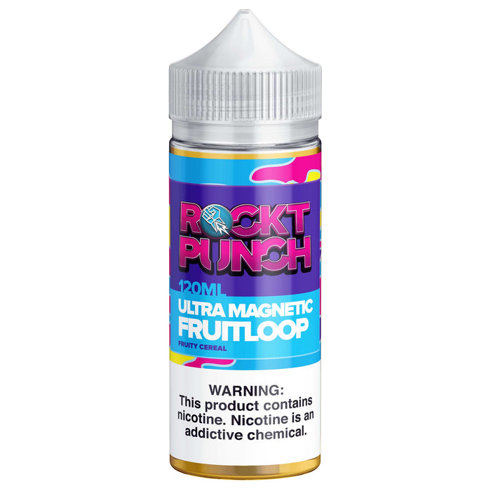 Ultra Magnetic Fruit Loop by Rockt Punch E-Liquid 120ml - 120ml.co - Premium Large Format eJuice and Vapor Products