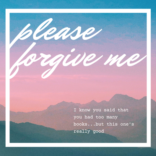 """Please Forgive Me"" Card"