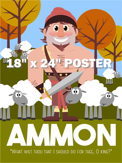 COMING SOON: Real Heroes: Ammon from the Book of Mormon - Poster