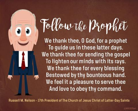 President Russell M. Nelson Print