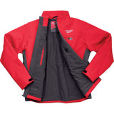Milwaukee 202R-213X M12 Heated TOUGHSHELL Jacket Kit 3X, Red