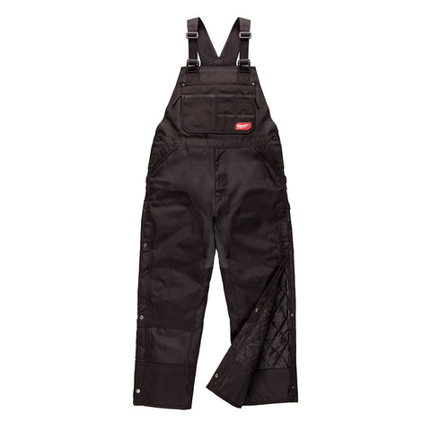 Milwaukee 261B-MS GRIDIRON Zip-to-Thigh Bib Overall - Black (Short)
