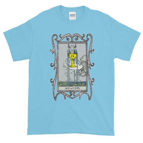 Ace of Cups Tarot Card Unisex Adult  T-shirt