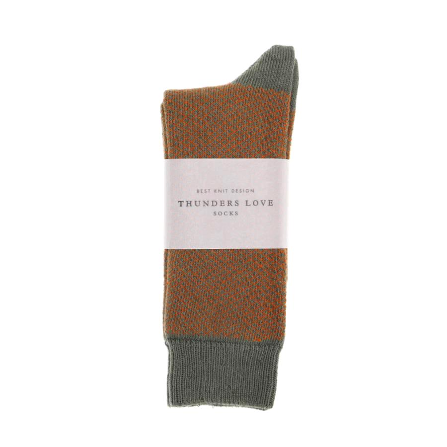 Bohemian Socks - Chestnut