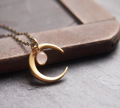 Moonstone Luna necklace