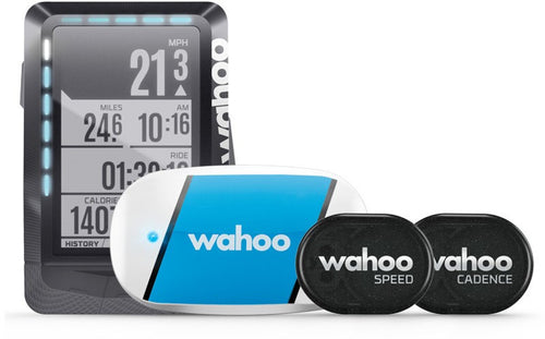 Wahoo ELEMNT GPS Bike Computer Bundle (includes TICKR, RPM Cadence & Speed)