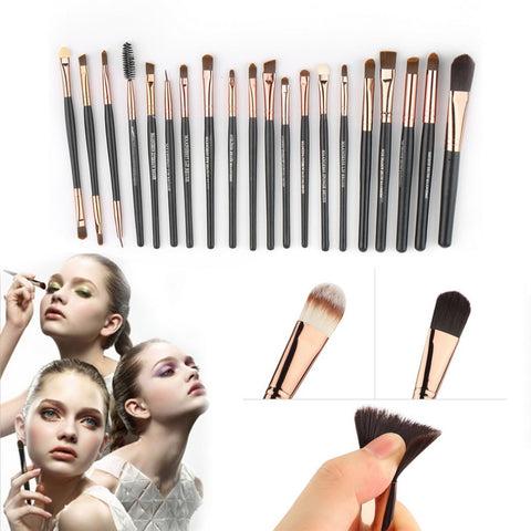 15pcs COMPLETE  Makeup Brush Set