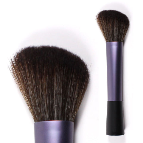 Oval Toothbrush Shaped Makeup Curve Brush Set