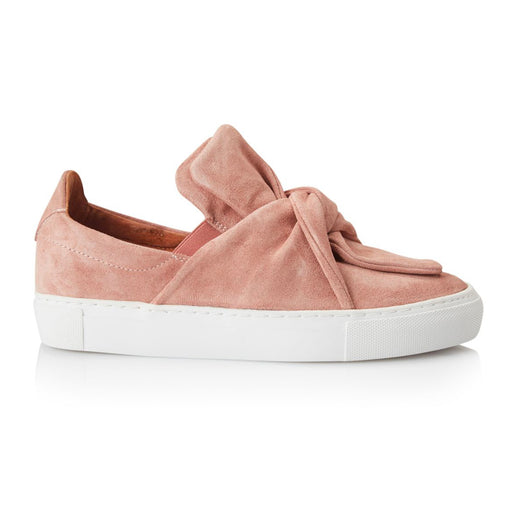 Pavement Ava Loop Suede sko rosa-Pavement-Hoofers - We love shoes