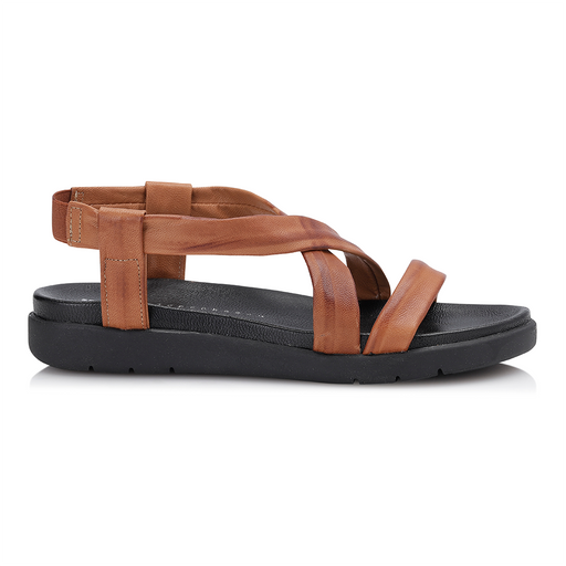 Shoe Biz Carina sandal cognac-Shoe Biz-Hoofers - We love shoes