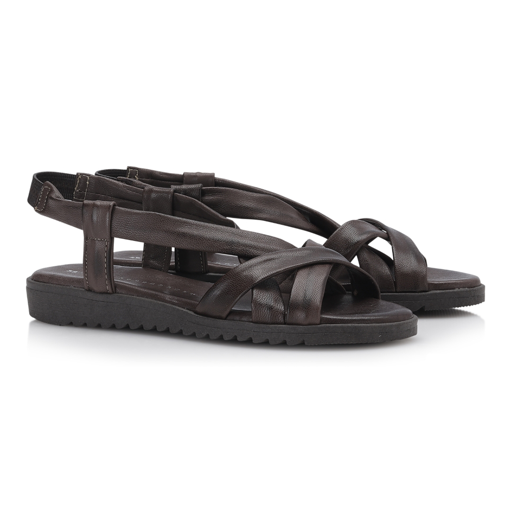Shoe Biz Stellaro sandal brun-Shoe Biz-Hoofers - We love shoes