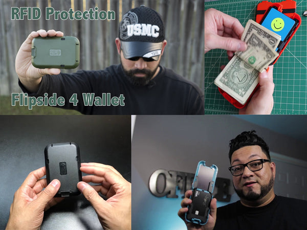 Flipside 4 Wallet Reviewers Praise It's New Design and Security