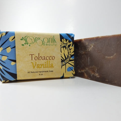 Organik Beauty Tobacco & Vanilla All Natural Handmade Soap