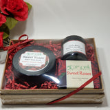 Sugar Body Scrub Gift Set by Organik Beauty
