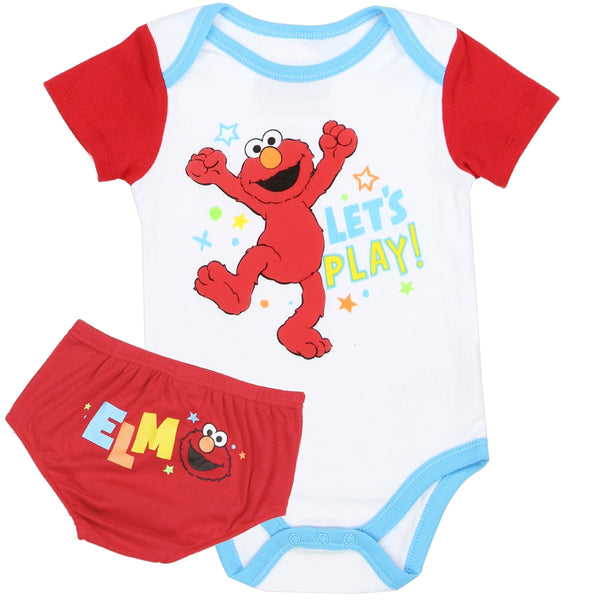 Let's Play Elmo Outfit