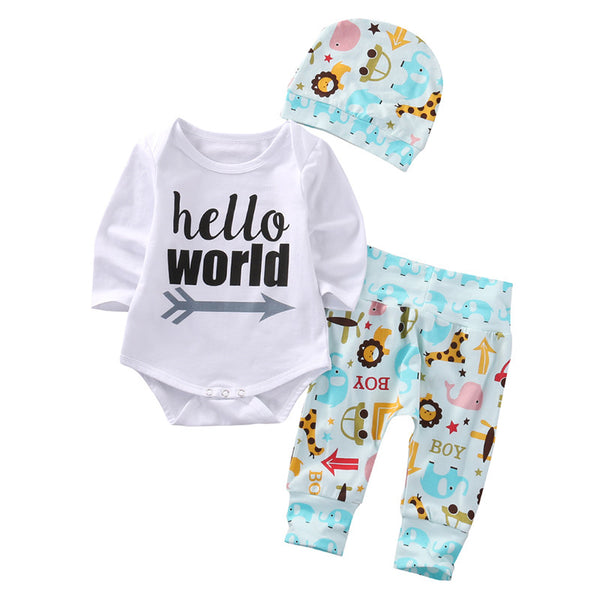 Hello World  Animal Theme Outfit