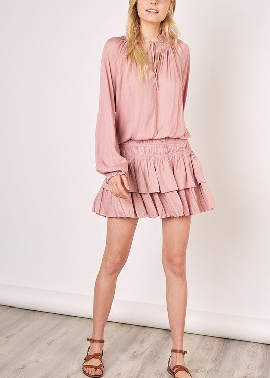 NANCY RUFFLE DRESS