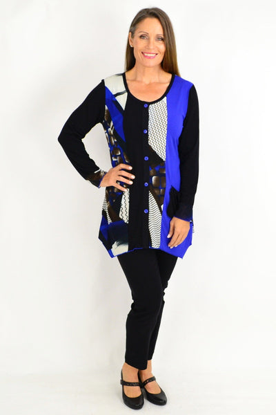 Patricias Button Up Tunic Top