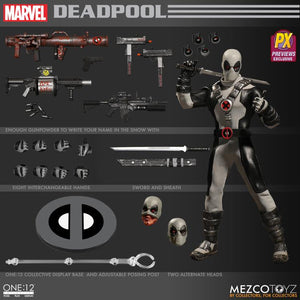 Marvel One:12 Collective Deadpool (X-Force) PX Previews Exclusive