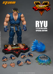 Ryu Special Edition Blue Ver Street Fighter V Storm Collectibles 1:12
