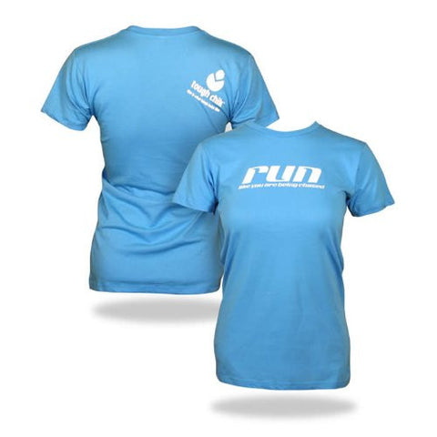 "Tough Chik ""Run like you are being chased"" - Short Sleeve Tee Shirt"