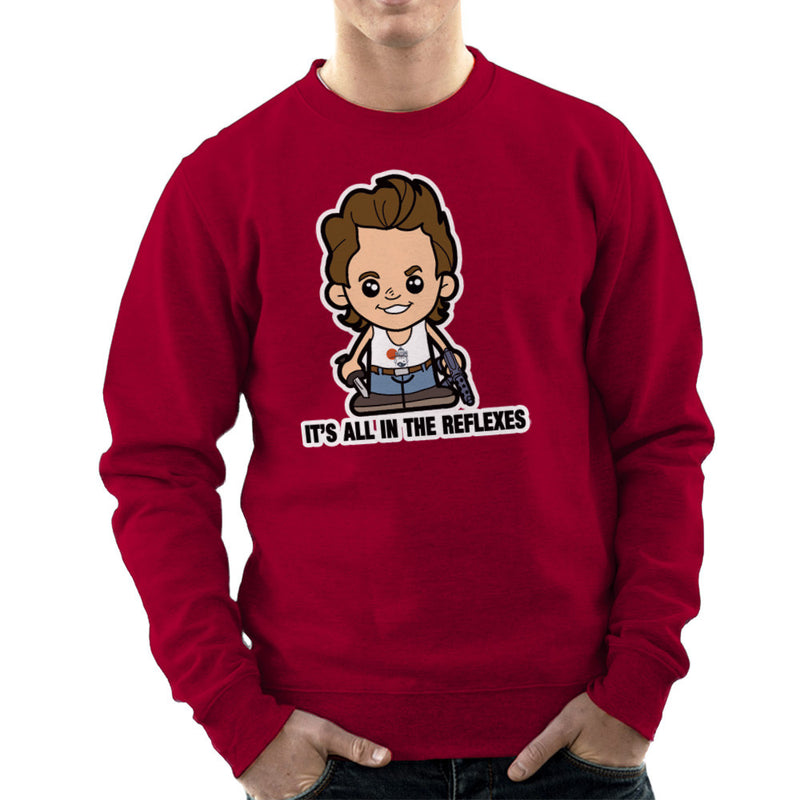 Lil Jack Burton Big Trouble in Little China Men's Sweatshirt by TopNotchy - Cloud City 7