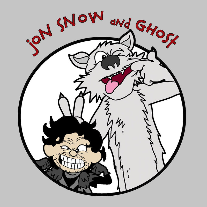 Jon Snow and Ghost Game of Thrones Calvin and Hobbes Men's Vest by TopNotchy - Cloud City 7