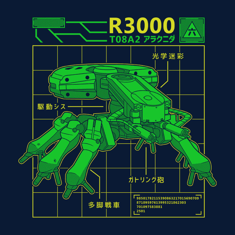 R3000 Robot Database Ghost In A Shell by Adho1982 - Cloud City 7