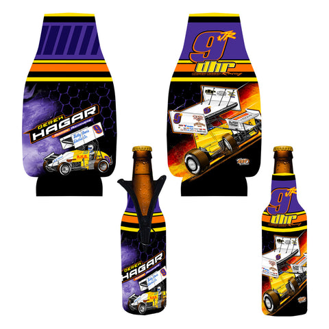 "Derek Hagar ""Tradition of Speed"" Bottle Coozie"