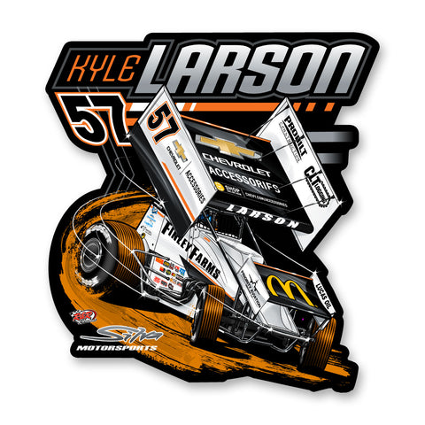 "Kyle Larson ""Anomaly"" Decal"