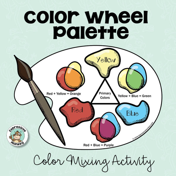 Color Wheel Palette