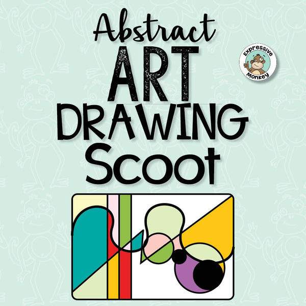 Abstract Art Drawing Scoot