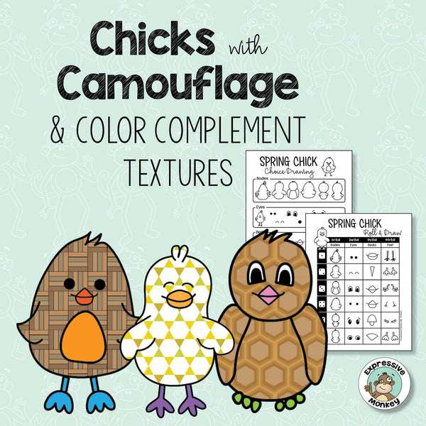 Chicks with Camouflage