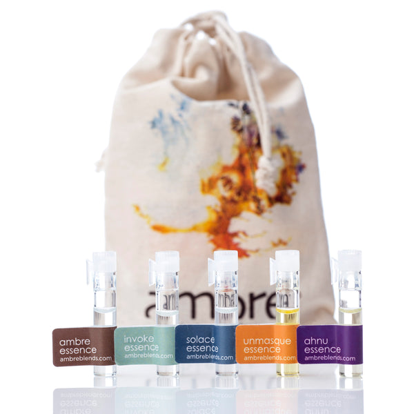 Sample Pack - Ambre Blends Pure Oil Essences