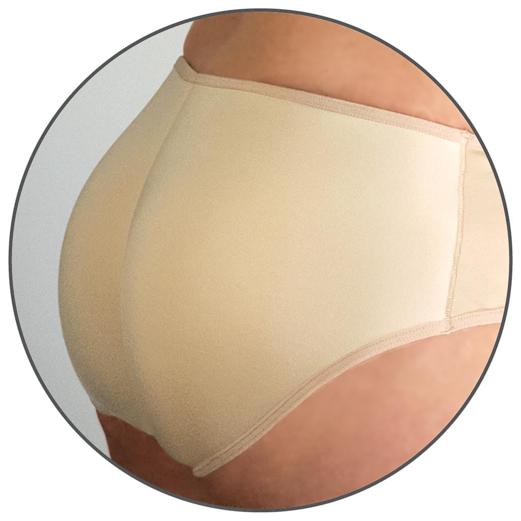 Booty Beauty Braza Padded Bum Booster Pants Natural Close Up
