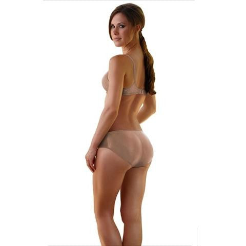 Booty Beauty Braza Padded Bum Booster Pants Natural