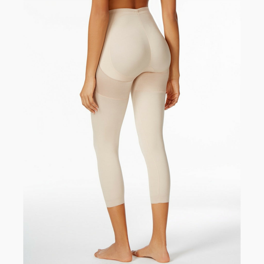 Miraclesuit Rear Lift & Thigh Control Waistline Leggings 2817 Natural Back View