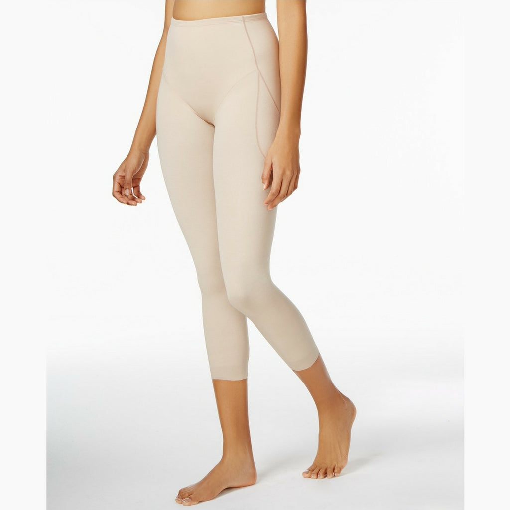 Miraclesuit Rear Lift & Thigh Control Waistline Leggings 2817 Natural Front View